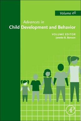 Book Advances In Child Development And Behavior by Benson