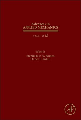 Book Advances In Applied Mechanics by Stephane Bordas