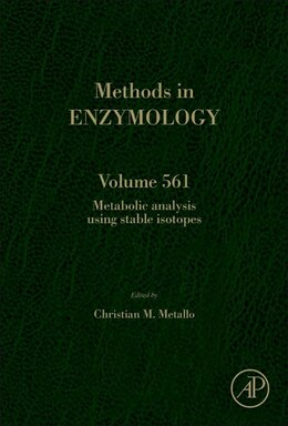 Book Metabolic Analysis Using Stable Isotopes by Christian Metallo