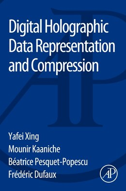 Book Digital Holographic Data Representation And Compression by Yafei Xing
