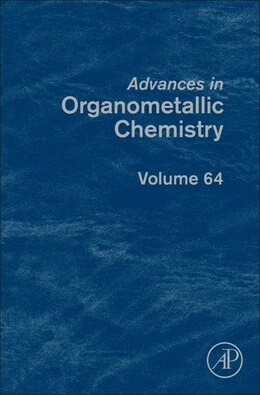 Book Advances In Organometallic Chemistry by Pedro J. Pérez