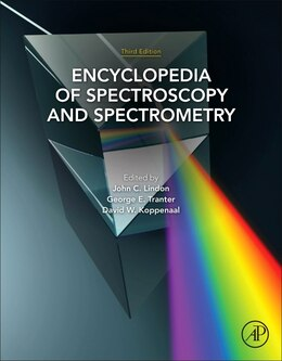 Book Encyclopedia Of Spectroscopy And Spectrometry by John C. Lindon