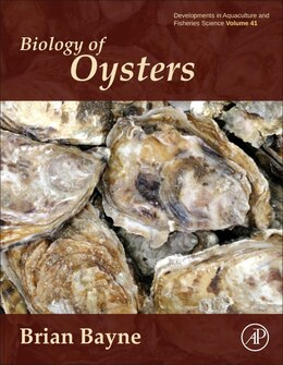 Book Biology Of Oysters by Brian Leicester Bayne