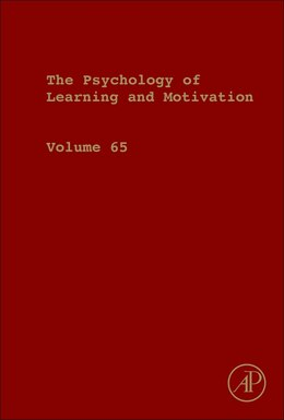 Book Psychology Of Learning And Motivation by Ross