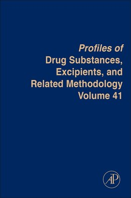 Book Profiles Of Drug Substances, Excipients And Related Methodology by Brittain