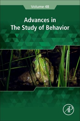 Book Advances In The Study Of Behavior by Marc Naguib
