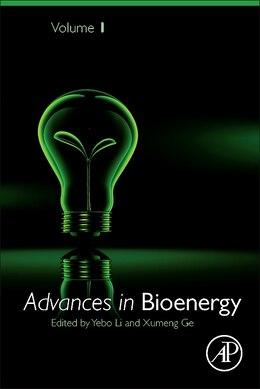 Book Advances In Bioenergy by Li