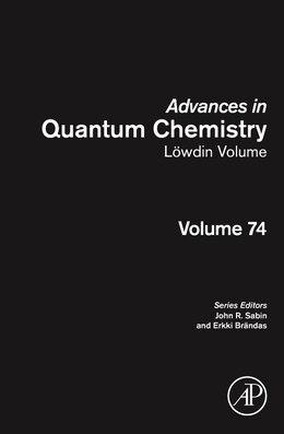 Book Advances In Quantum Chemistry: Lowdin Volume by Sabin