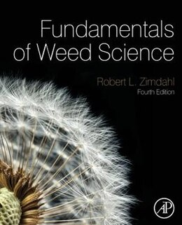Book Fundamentals Of Weed Science by Robert L Zimdahl