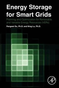 Book Energy Storage For Smart Grids: Planning And Operation For Renewable And Variable Energy Resources… by Pengwei Du