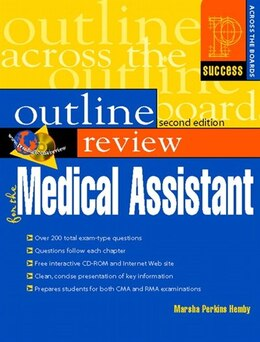 Book Prentice Hall Health Outline Review for the Medical Assistant by Marsha Perkins Hemby