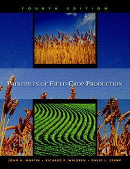 Book Principles Of Field Crop Production by John H. Martin