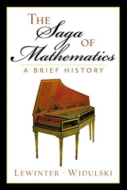 Book The Saga of Mathematics: A Brief History by Marty Lewinter