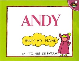 Book Andy, That's My Name by Tomie Depaola