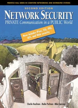 Book Network Security: Private Communication In A Public World by Charlie Kaufman