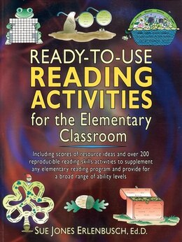 Book Ready-to-Use Reading Activities for the Elementary Classroom by Sue Jones Erlenbusch