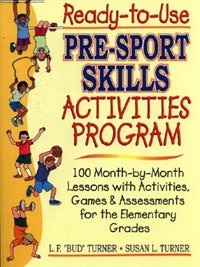 Book Ready-to-use Pre-sport Skills Activities Program by Lowell F. Turner