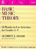 Book Basic Music Theory: Unit 1 by Audrey Adair