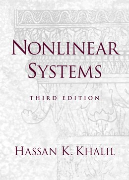 Book Nonlinear Systems by Hassan K. Khalil