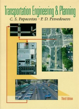 Book Transportation Engineering and Planning by C.s. Papacostas