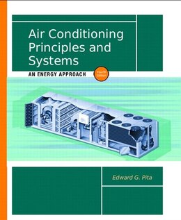Book Air Conditioning Principles and Systems: An Energy Approach by Edward G. Pita
