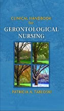 Book Gerontology Nursing Handbook by Patricia A. Tabloski