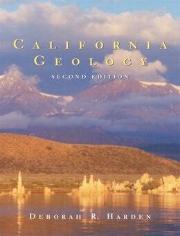 Book California Geology by Deborah Harden