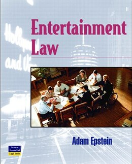 Book Entertainment Law by Adam Epstein