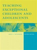 Book Teaching Exceptional Children And Adolescents: A Canadian Casebook, Second Canadian Edition by Nancy L. Hutchinson