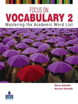 Book FOCUS ON VOCABULARY 2      2/E: STUDENT BOOK by PEARSON LONGMAN