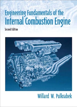 Book Engineering Fundamentals of the Internal Combustion Engine by Willard W. Pulkrabek