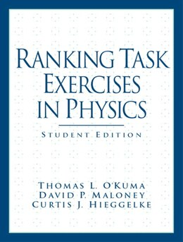 Book Ranking Task Exercises in Physics: Student Edition by T L O'kuma
