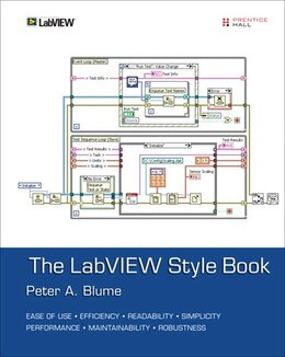 Book The Labview Style Book by Peter A. Blume
