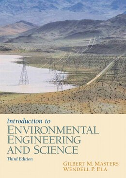 Book Introduction To Environmental Engineering And Science by Gilbert M. Masters