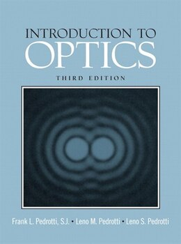 Book Introduction To Optics by Frank L Pedrotti