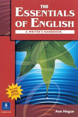 Book Essentials Of English      N/e: BOOK WITH APA STYLE by PEARSON LONGMAN