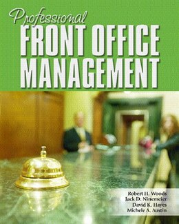 Book Professional Front Office Management by Robert Woods