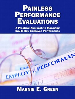 Book Painless Performance Evaluations by Marnie E. Green