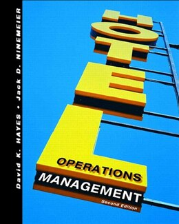 Book Hotel Operations Management by David K. Hayes