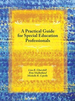 Book A Practical Guide for Special Education Professionals by Lisa R. Churchill