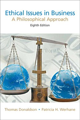 Book Ethical Issues In Business: A Philosophical Approach by Thomas Donaldson