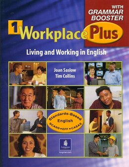 Book WORKPLACE PLUS 1: STBK/GRAMMAR BOOSTER by PEARSON LONGMAN
