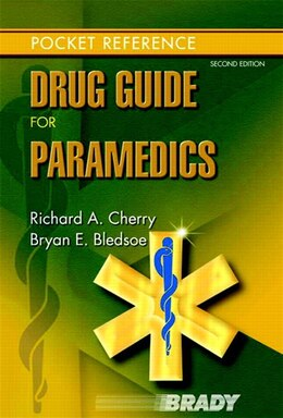 Book Drug Guide For Paramedics by Richard A. Cherry