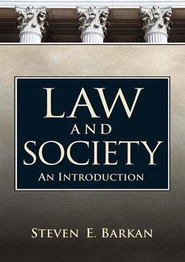 Book Law and Society: An Introduction by Steven Barkan