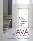 Data Abstraction and Problem Solving with Java: Walls and Mirrors