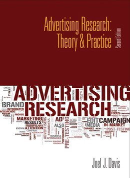 Book Advertising Research: Theory & Practice by Joel J. Davis