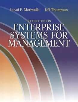 Book Enterprise Systems for Management by Luvai Motiwalla