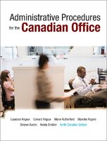 Administrative Procedures For The Canadian Office, Ninth Canadian Edition