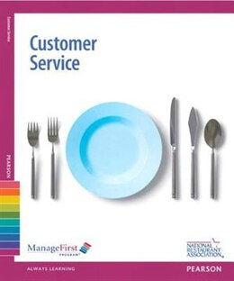 Book ManageFirst: Customer Service with Answer Sheet by Association Solutions National Restaurant Association