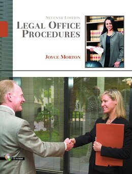 Book Legal Office Procedures by Joyce Morton